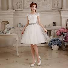 vintage knee length wedding dresses naf dresses
