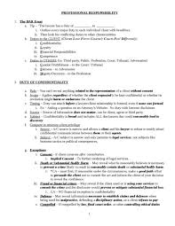 professional responsibility bar essay checklist oxbridge notes  related professional responsbility bar exam samples professional responsibility bar essay checklist