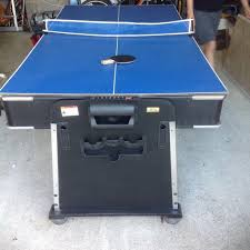mightymast leisure revolver 7ft 3 in 1 multi table pool air hockey and table