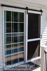 diy screen door home sliding screen doors