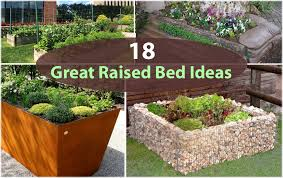 Small Picture Raised Garden Bed Ideas Ideas About Raised Flower Beds On