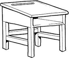 desk clipart black and white. image result for black and white clipart desk