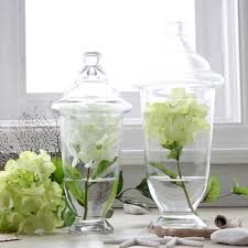 Decorative Glass Jars With Lids Fashion Home Kitchen Decoration Transparent Lid Glass Storage 22