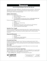 How To Write A Resume For Free – Resume Sample Directory