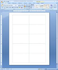 Card Templates For Word