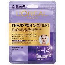 Наполняющая влагой <b>тканевая маска</b> для кожи лица <b>L'Oreal Paris</b> ...