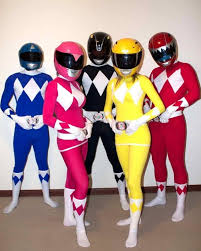 diy power rangers superhero costume