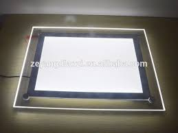 lighting frames. Display Hall Cable Hanging Acrylic Material LED Picture Light Sign Frame,easy Change Frames Lighting