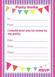 Birthday Invitations Printable Printable Invitations Birthday Rome Fontanacountryinn Com