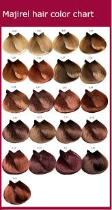 Last week i had to find the code for blonde hair for an image i was modifying with my cricut imagine and today i was editing some photos and wanted the right shade of brown to repair red eye in a photo. Majirel Hair Color Chart Instructions Ingredients Hair Color Chart Trend Hair Color 2017 2018 2019 2020 Reviews The Women S Magazine