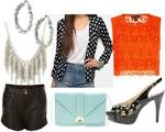 Class to night out: lace shorts