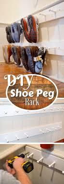 Shoe Organizer Ideas Best 25 Shoe Storage Ideas Only On Pinterest Diy Shoe Storage