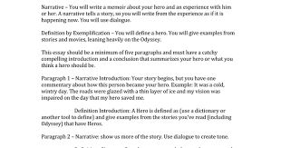 narrative essay dialogue example narrative example essay  my hero narrativedocx google docs narrative essay dialogue example