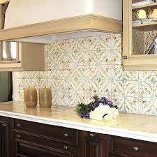 terra cotta tile backsplash photo courtesy of statements in tile tiles  beige kitchen style ideas with