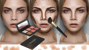 how to contour and highlight in photo