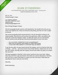 Dublin Cover Letter Template Download