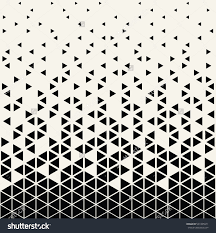 Abstract Pattern Cool Abstract Geometric Hipster Fashion Design Print Triangle Pattern