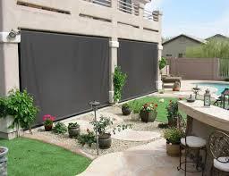 patio wind blockers screen to control light heat wind and glare