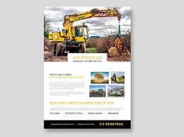 Construction Flyer Psd Template Free Download