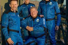William Shatner just went into space ...