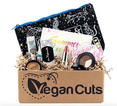 makeup box from vegan cuts