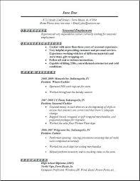 Job Resume Outline Job Resume Samples For Design Attractive Resume