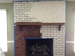 refinished fireplace refinish brick