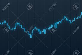 3d Stock Chart Stock Illustration