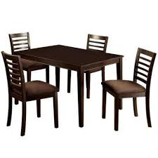 eaton i 5 piece espresso dining set
