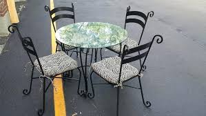 rod iron table and chairs innovative ideas pier one dining table pier 1 wrought iron dining