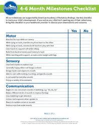 Milestones Checklist 3 Months Baby Activities Infant