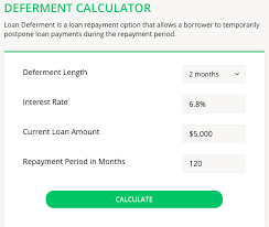 payment calculator student loan student loan deferment calculator college reviews