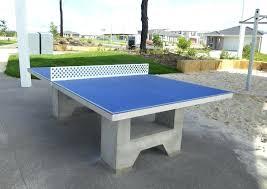 concrete table tennis home s sport recreation table tennis concrete ping pong table