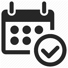 Appointment Calander Appointment Calendar Good Month Ok Planner Schedule Icon