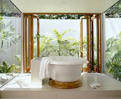 tropical home decor elements with relaxing bathtub with regard to within relaxing  bathroom designs Inspiringly Relaxing ...
