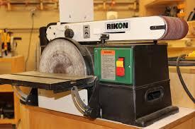 rikon belt sander. the album was called \ rikon belt sander o