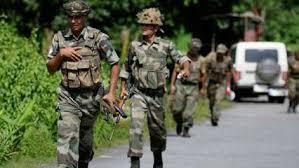 இந்திய ராணுவம் உரியபதிலடி  பாக்., வீரர்கள் 5 பேர் பலி