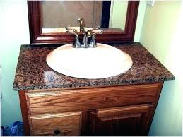 how to install bathroom vanity removing a alluring replace top estimate cost
