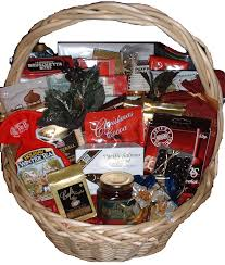 holiday snack gift basket