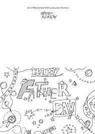 Day Cards To Print Father S Day Colouring Card 2