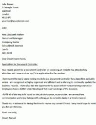 Bunch Ideas Of Uk Cover Letter Examples 18 For A Document Controller