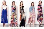 Платье модные летом 2017 151