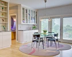 Modern Dining Room Rugs Contemporary Dark Brown Leather Base - Modern dining room rugs