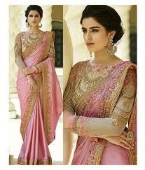 New Bollywood Designer Sarees Zofey Bollywood Designer Sarees Pink Georgette Saree