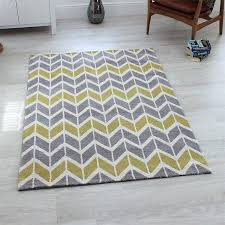 white and gray chevron rug full size of decoration yellow black and grey rug square yellow