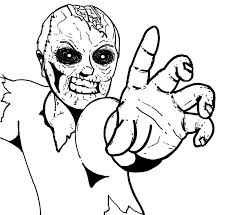 Small Picture 82 best Zombie coloring images on Pinterest Coloring books