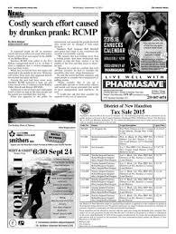 Smithers Interior News, September 16, 2015 by Black Press Media ...