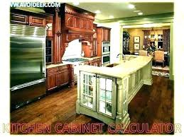 Kitchen Pricing Calculator Estimating Kitchen Cabinet Costs Newtonstore Co
