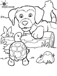 All free coloring pages online at here. Dogs Free Printable Coloring Pages For Kids