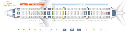Seat Map Airbus A340 600 Etihad Airways Best Seats In The Plane